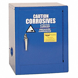 Corrosive Safety Cabinet, 17-1/2 In. W