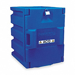 Corrosive Safety Cabinet, 19-1/2 In. H