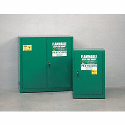Pesticide Cabinet, 12 Gal., Self Closing