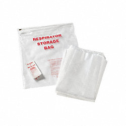 Disposable Respirator Storage Bag, PK 100