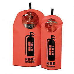 Fire Extinguisher Cover w/Window, 15-30lb