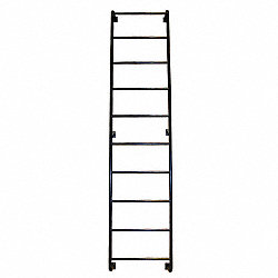 Side Step Dock Ladder, 14 Steps, 170 In