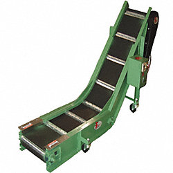 Belt Conveyor, Belt W18In, 90VDC