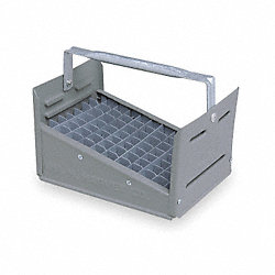 Nipple Caddy, 77 Compartments, 1/2 In