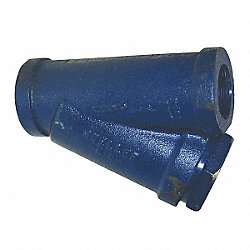 Y Strainer, 1/4 In, Threaded, Ductile Iron