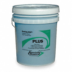 Pipe Antifreeze 5 Gal, Blue Color