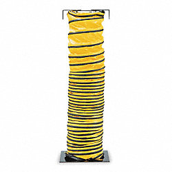 Blower Ducting, 25 ft., Black/Yellow