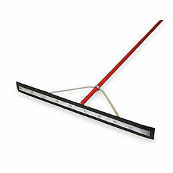 Squeegee, Black, 36 In. L, Neoprene Rubber