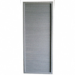 CECO DOOR LOUVER KIT 24X6