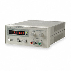 Power Supply, 0-120VDC, 0-0.5A, Manual