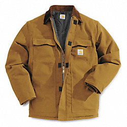 Coat, Insulated, Brown, XL