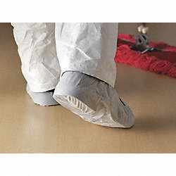 Shoe Covers, SlipResist, 1Size, White, PK300
