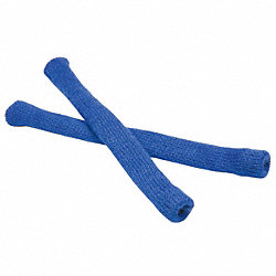 Arm Socks, Royal Bl, 4-1/2 In, Nyl, PR