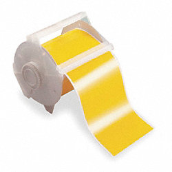Tape, Yellow, 100 ft. L, 4 In. W