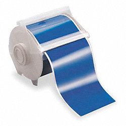 Tape, Blue, 100 ft. L, 4 In. W