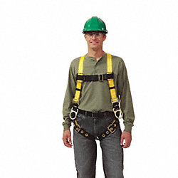 Full Body Harness, Standard, Yellow