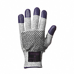 Cut Resistant Gloves, Purple, XL, PR