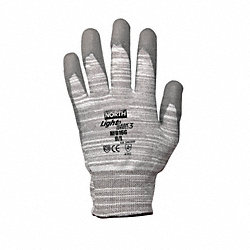 Cut Resistant Gloves, Gray/White, S, PR