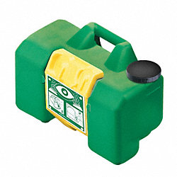 Eyewash Station, Compact, Portable, Green