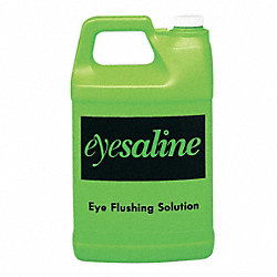 Eye Wash Saline Solution, 1 gal.