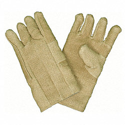 Heat Resistant Gloves, Tan, ZetexPlus, PR