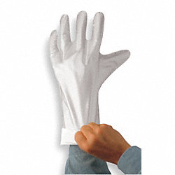 Chemical Resistant Glove, 2-1/2 mil, PR