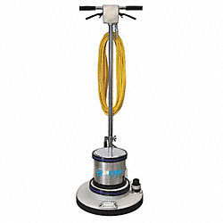 Floor Grinder, Mastic/Coating, 17 In