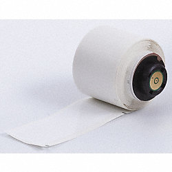 Label, White, Polyester, 1-1/4 In. L