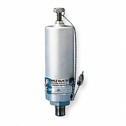Safety Relief Valve, 1/4 In, 4000 psi, Alum