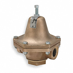 Pressure Regulator, 1-1/2 In, 2 to 15 psi