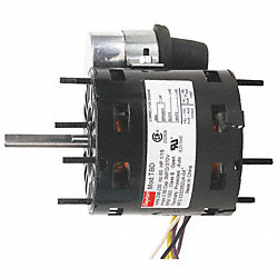 HVAC Motor, 1550 rpm, 208-230V, 1/15 HP