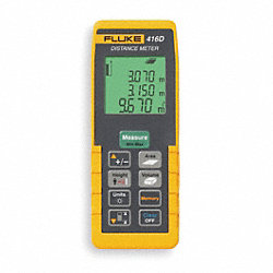 Laser Distance Meter w/Case, 200 Ft