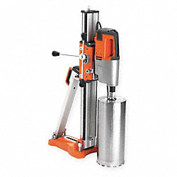 Diamond Coring Rig, 3 Hp, 120  V, 15 A,