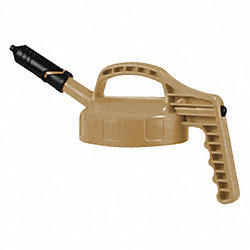Mini Spout Lid, w/0.27 In Outlet, Beige