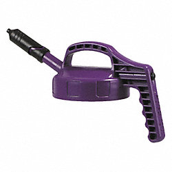 Mini Spout Lid, w/0.27 In Outlet, Purple