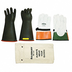 Electrical Glove Kit, Size 10, 14 In. L, PR