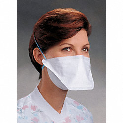 Flat Fold Disposable Respirator, N95, PK50