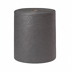 Absorbent Roll, Gray, 100 gal., 30 In. W