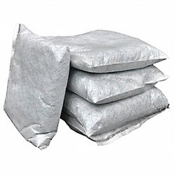 Absorbent Pillow, 10 In. W, Gray, PK 20