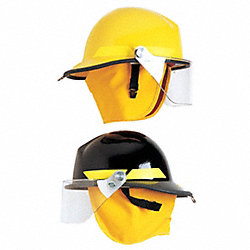 Faceshield Visor, Polycarbonate, Clr, 6 in.