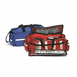 Trauma Bag, Red, 28 In.L, 28 In.W, 11 In.H