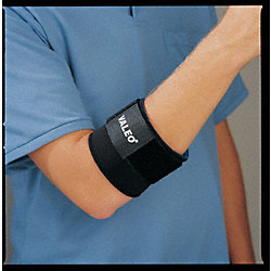 Elbow Support, L, Black, Single Strap