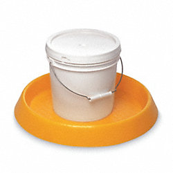 Spill Tray, 2-1/4 In. H, Yellow, 3.7 gal.