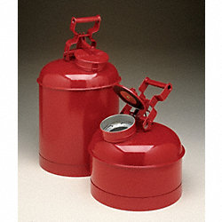 Disposal Can, 2.5 Gal., Galvanized Steel