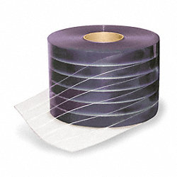 Vinyl Strip Roll, 300Ft, -30to150F, Smooth