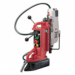 Magnetic Drill Press, 750/375 RPM, 1.25 In