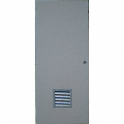 Hollow Metal Door 12 x 12 Louvers