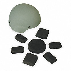 Hard Hat Pad Kit, Size 4, 1/2in.Thickness
