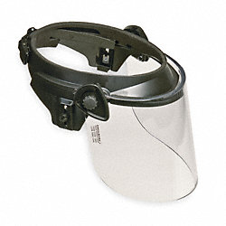 Faceshield Visor, Clear, 8 x 9 in.