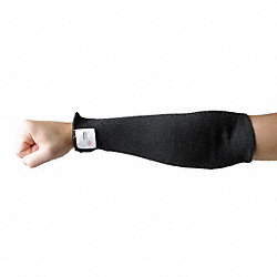 Cut Resistant Sleeve, 18 In., Black